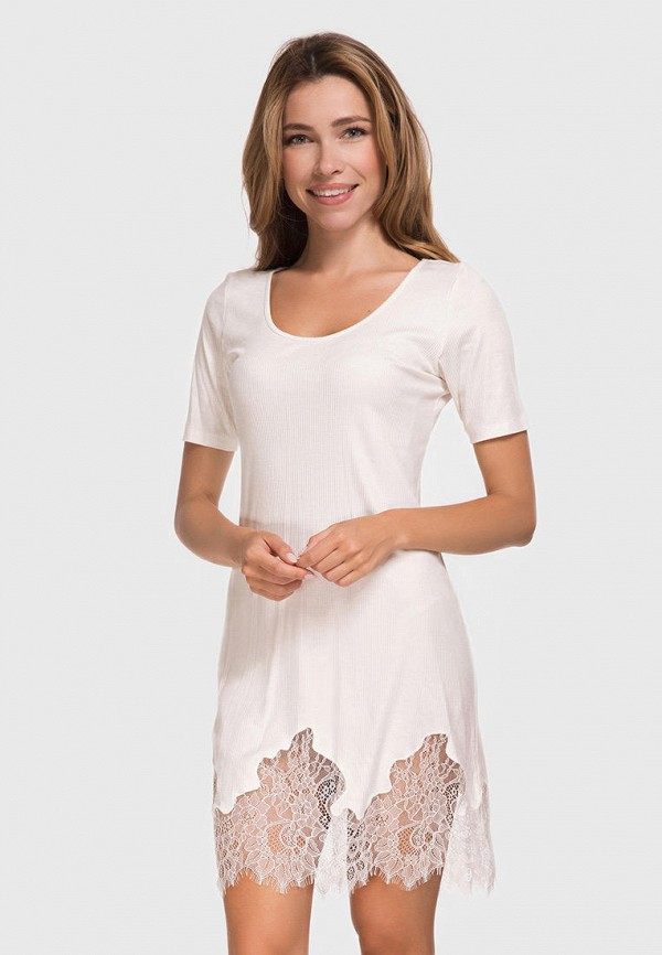 женские сорочка ночная german volf, белые