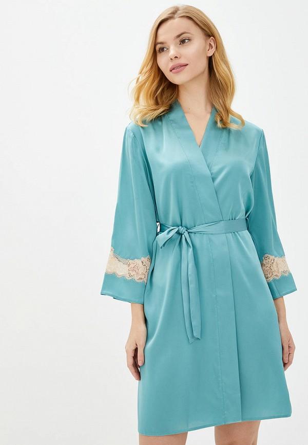 женский халат komilfo, голубой