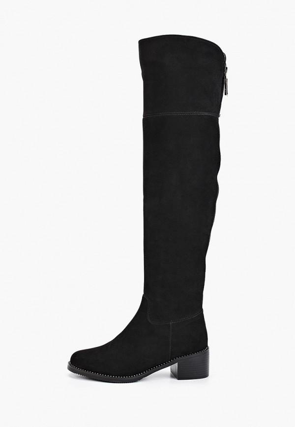 женские ботфорты ridlstep, черные