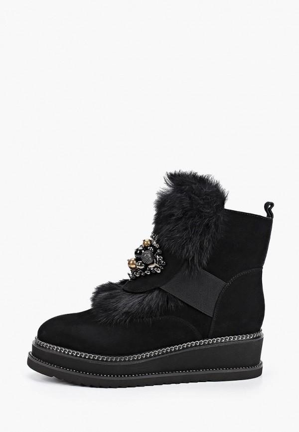 женские высокие ботинки ridlstep, черные