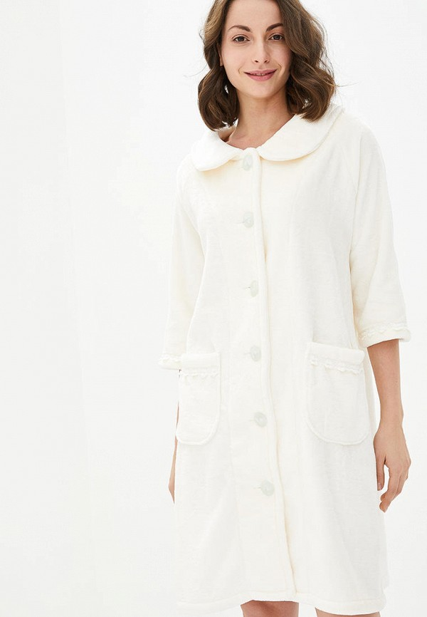 женский халат german volf, белый