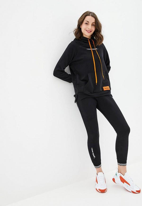женский спортивный костюм german volf, черный