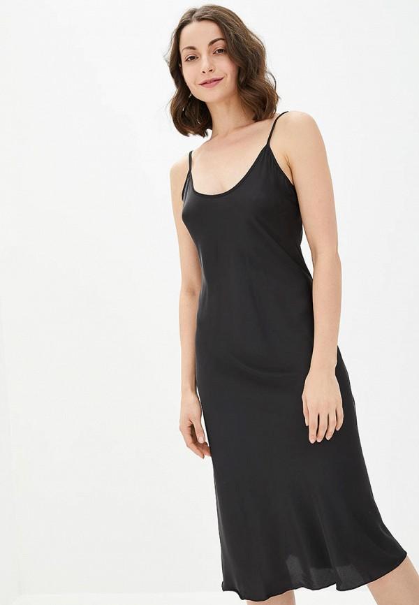 женские сорочка ночная german volf, черные