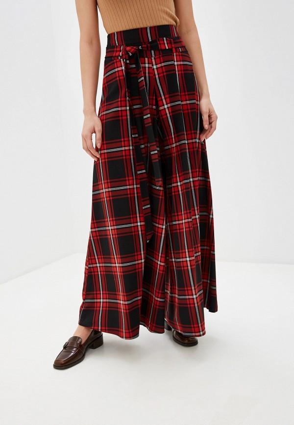 женские брюки клеш ramanti, красные