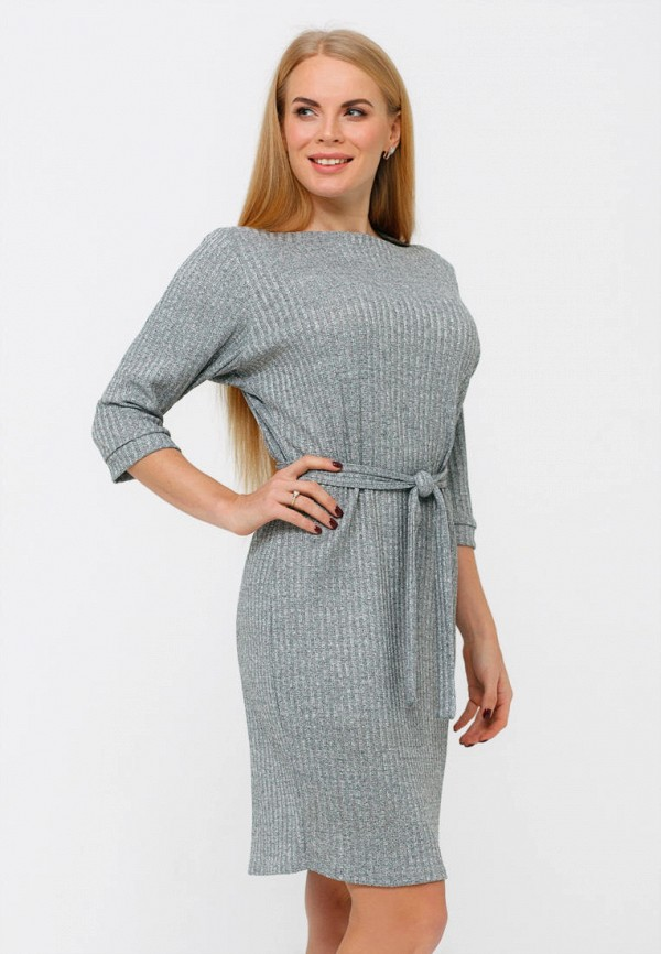 Платье Текстиль Хаус Текстиль Хаус MP002XW0HG9E платье miata серый 48 размер