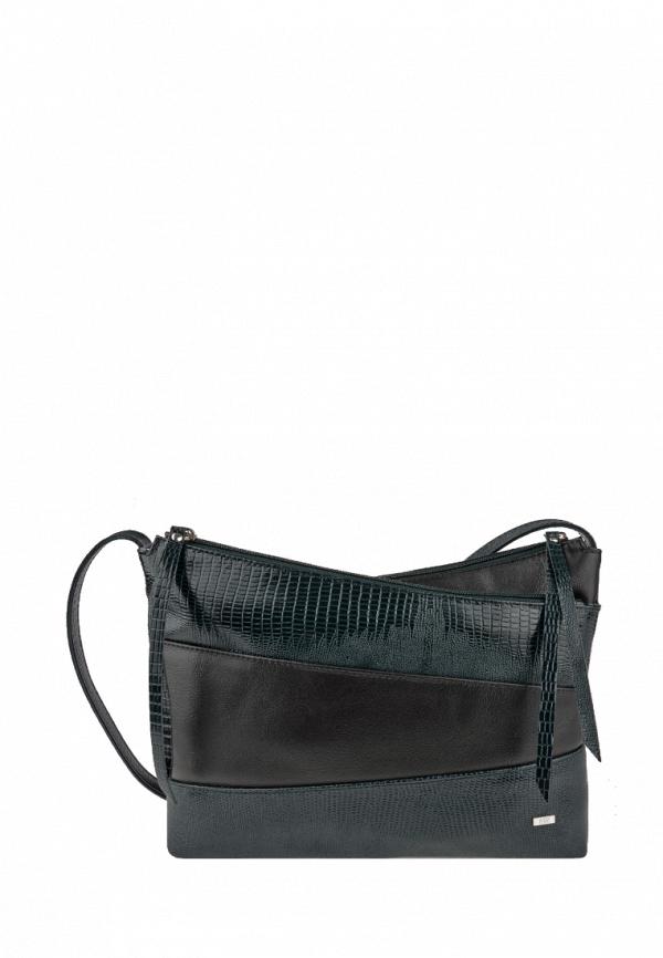 женская сумка через плечо esse, зеленая