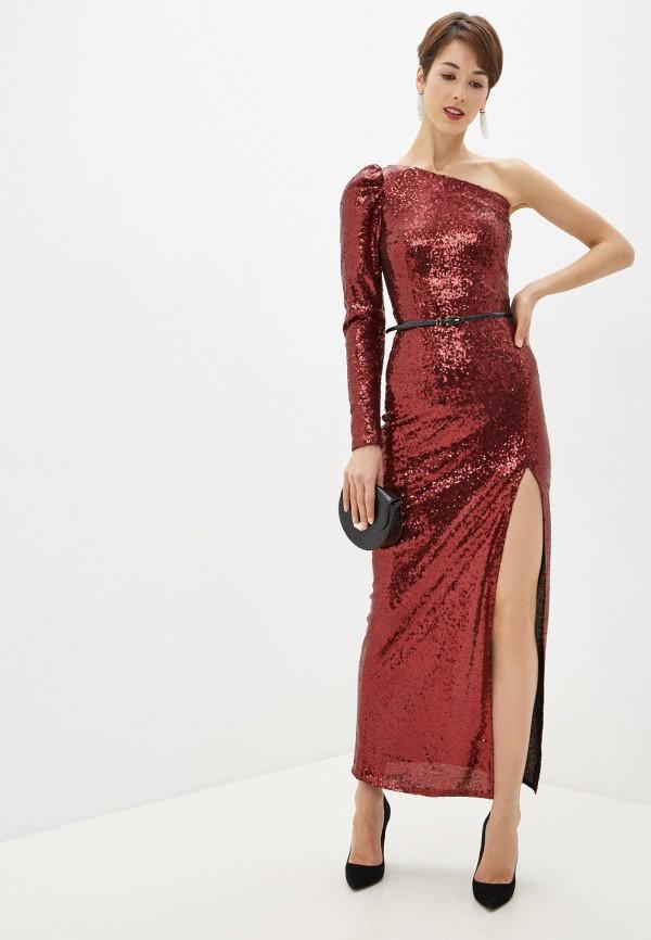 Платье Anastasya Barsukova Anastasya Barsukova  бордовый фото