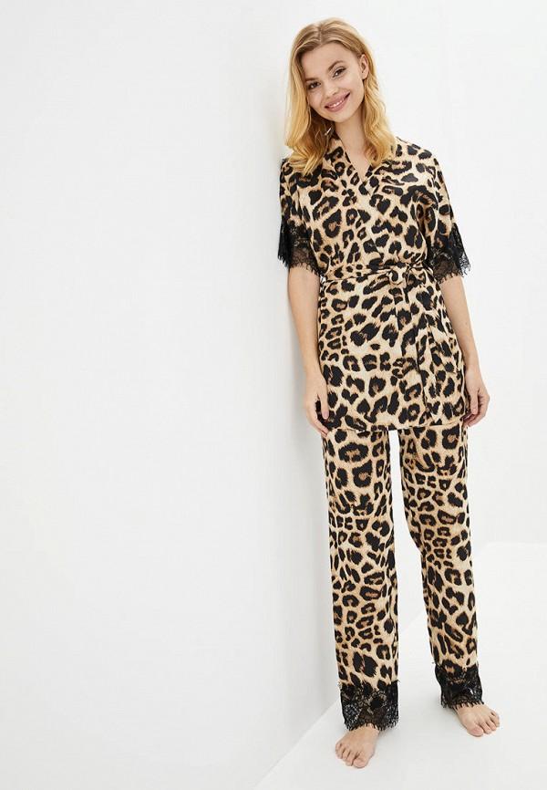 женская пижама komilfo, бежевая