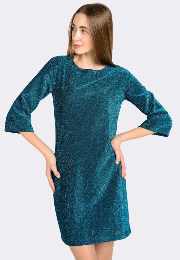 женское вечерние платье cat orange, бирюзовое