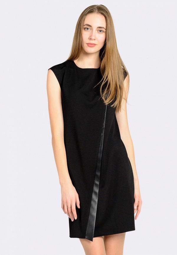 женское повседневные платье cat orange, черное