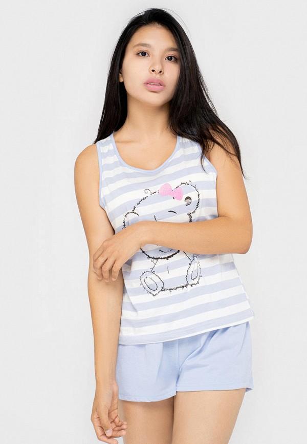 женская пижама kayser, разноцветная