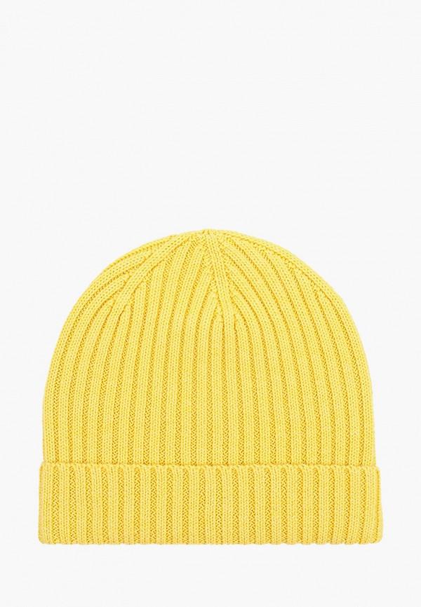 женская шапка дирз, желтая