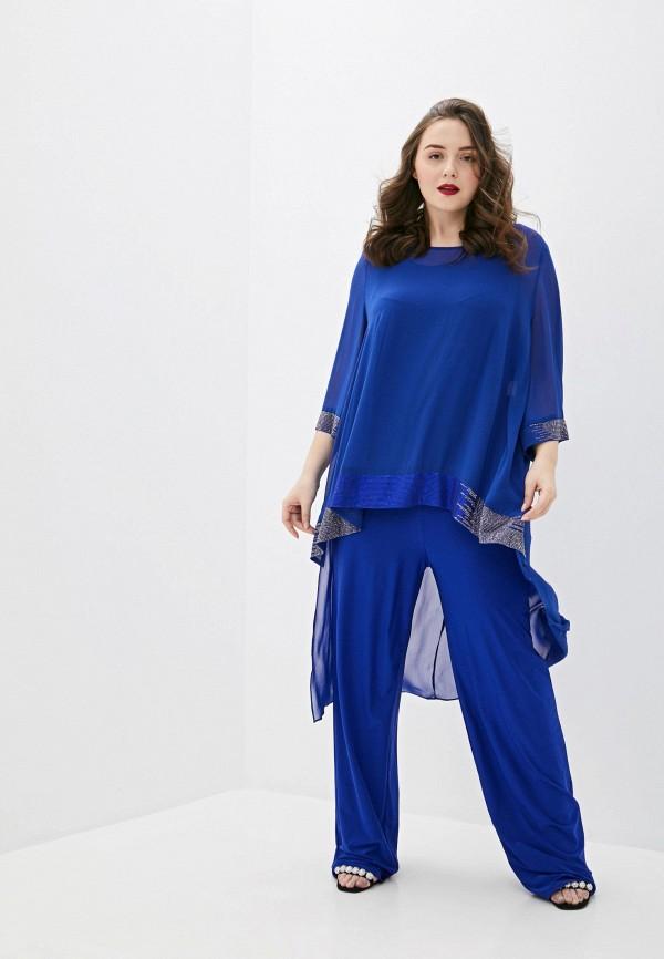 женский комбинезон с брюками milomoor, синий