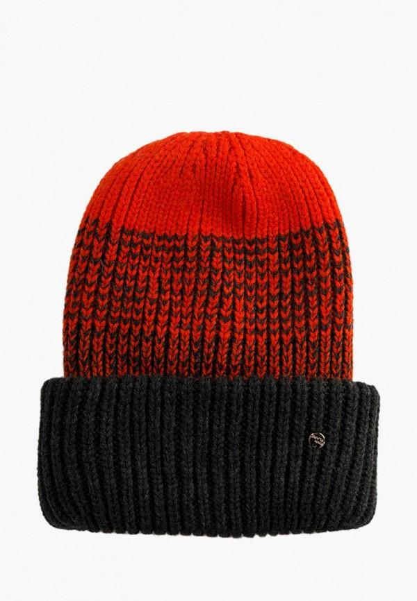 женская шапка finn flare, серая