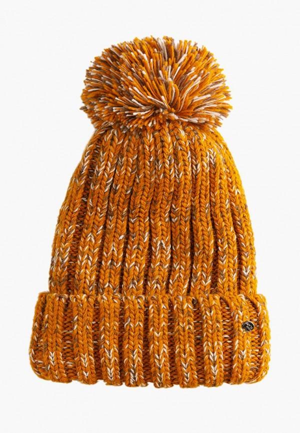 Шапка Finn Flare оранжевого цвета