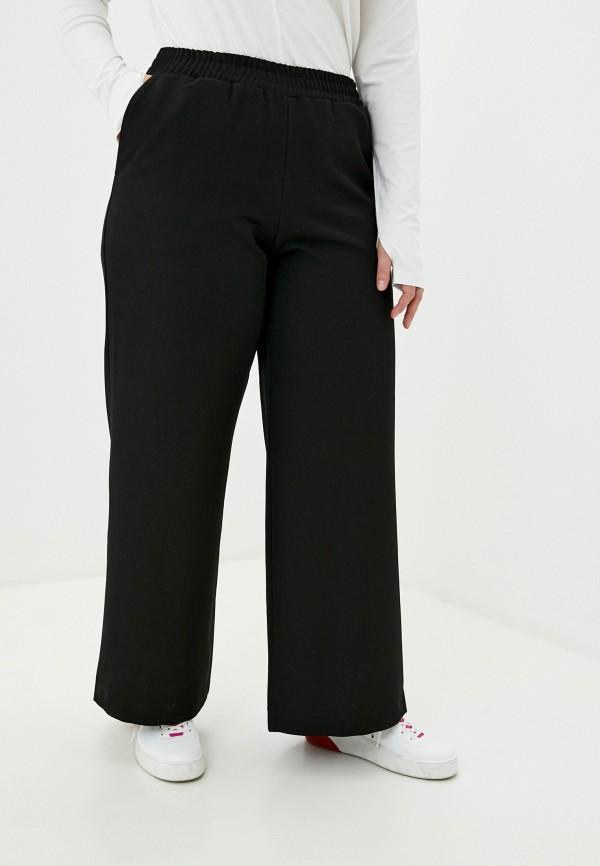 женские брюки клеш w&b, черные