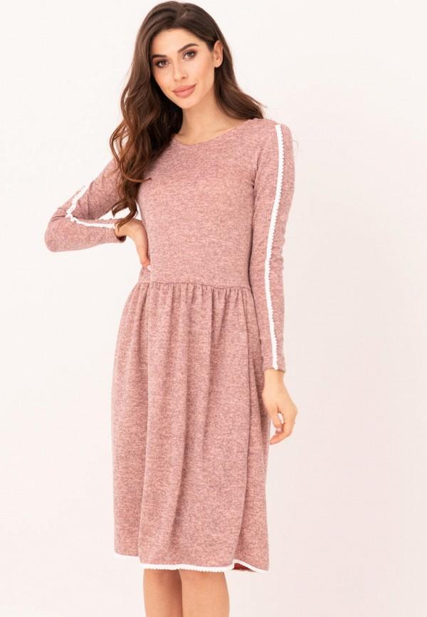 женское повседневные платье magnet, розовое