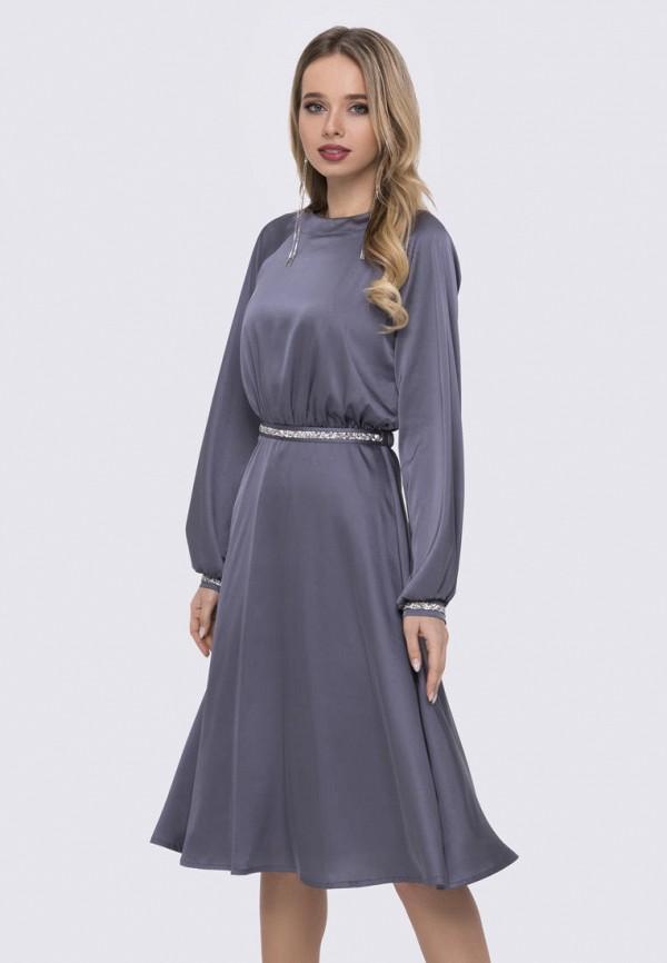 женское вечерние платье anushka by anna pavlova, серое