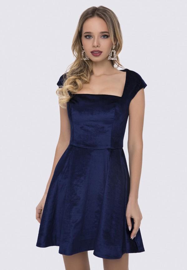 женское вечерние платье anushka by anna pavlova, синее
