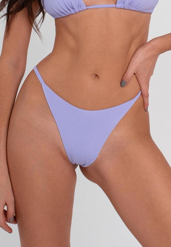 женские плавки love pam, фиолетовые
