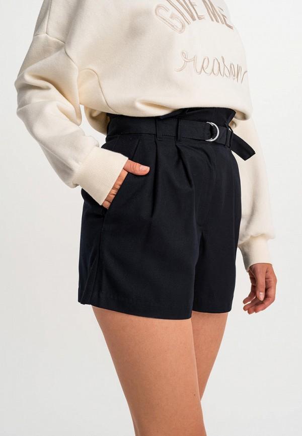 Фото 4 - Женские шорты Befree черного цвета