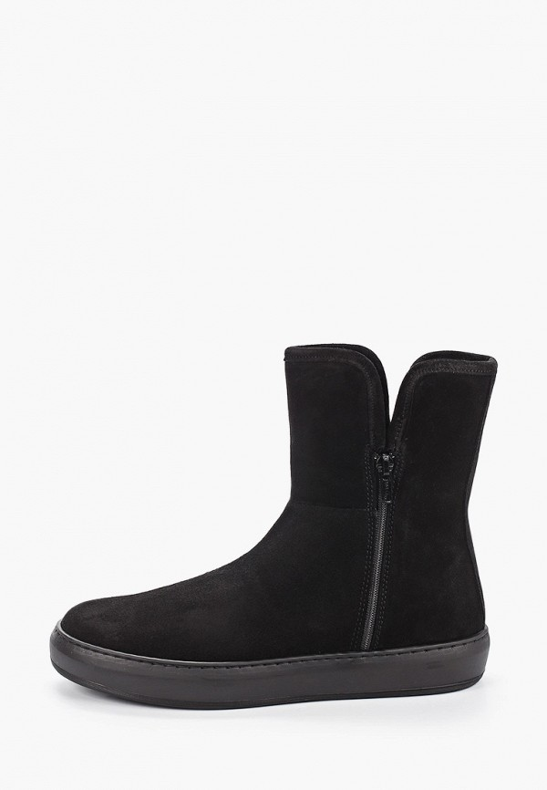 женские высокие ботинки pazolini, черные