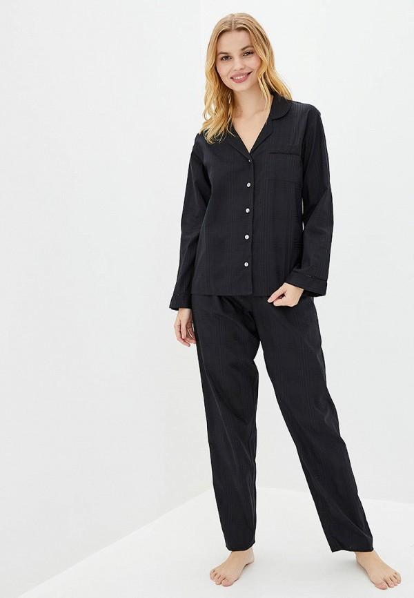 женская пижама nora rose, черная