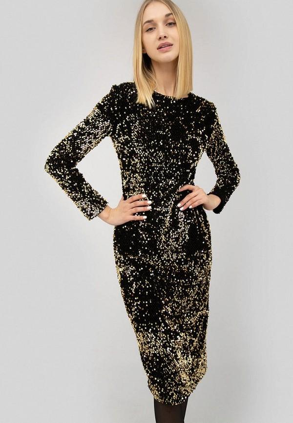 женское вечерние платье cardo, золотое