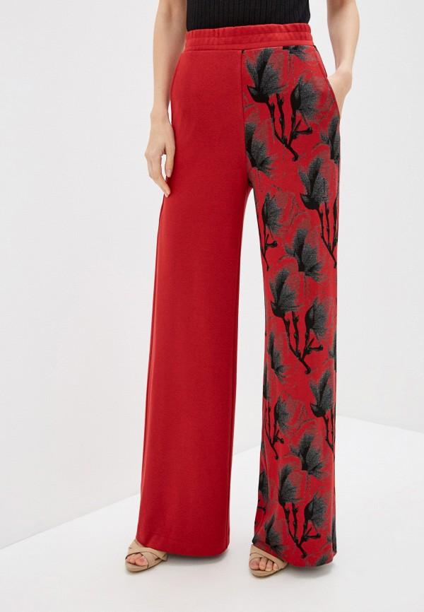 женские повседневные брюки lo, красные