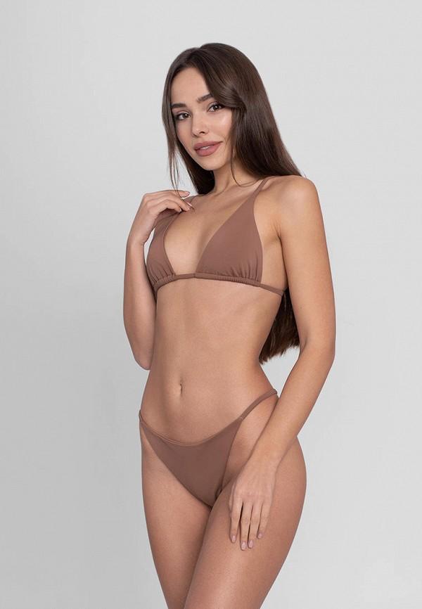 женский лиф love pam, коричневый