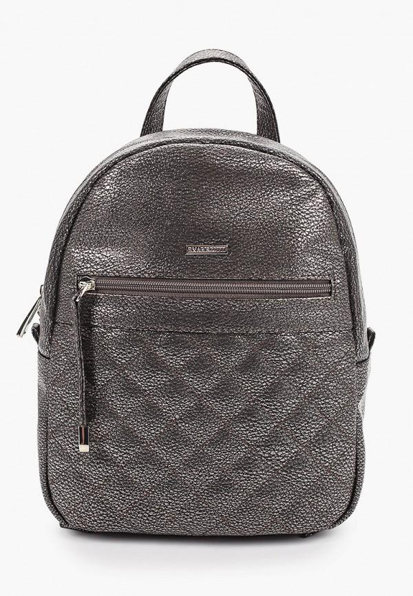 женский рюкзак franchesco mariscotti, серебряный