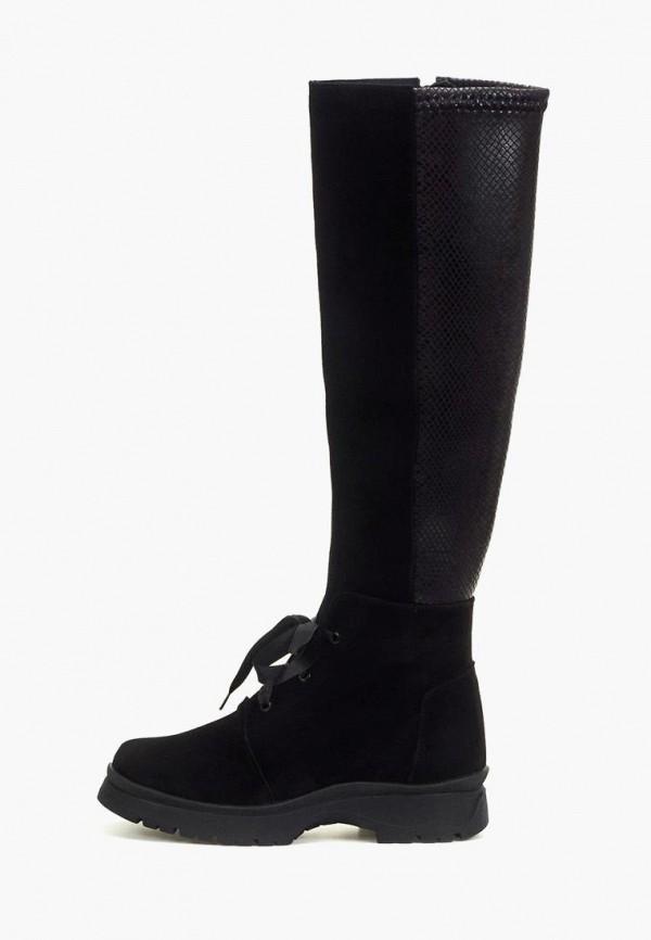 женские сапоги tops, черные