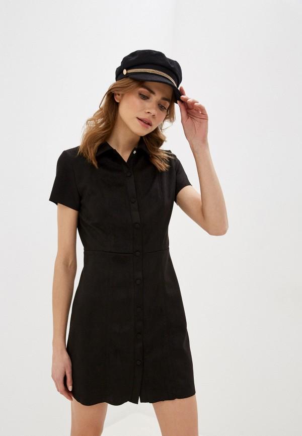 Фото - Женское платье Befree коричневого цвета