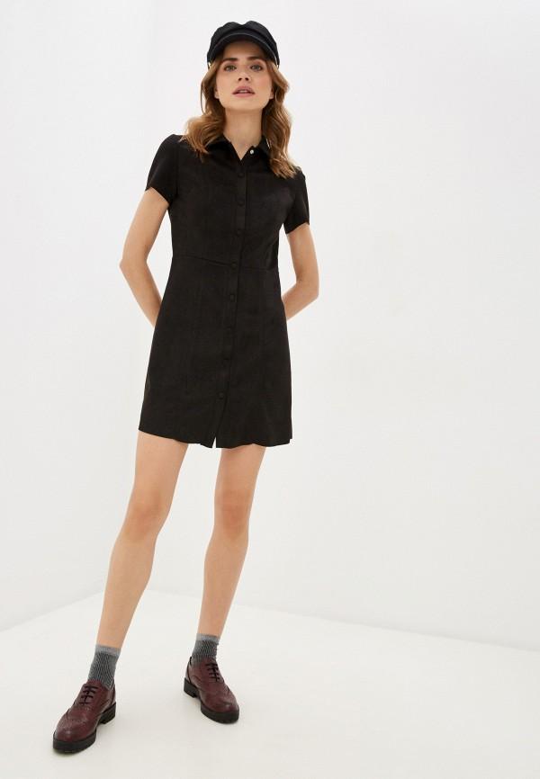 Фото 2 - Женское платье Befree коричневого цвета