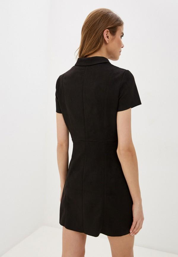 Фото 3 - Женское платье Befree коричневого цвета