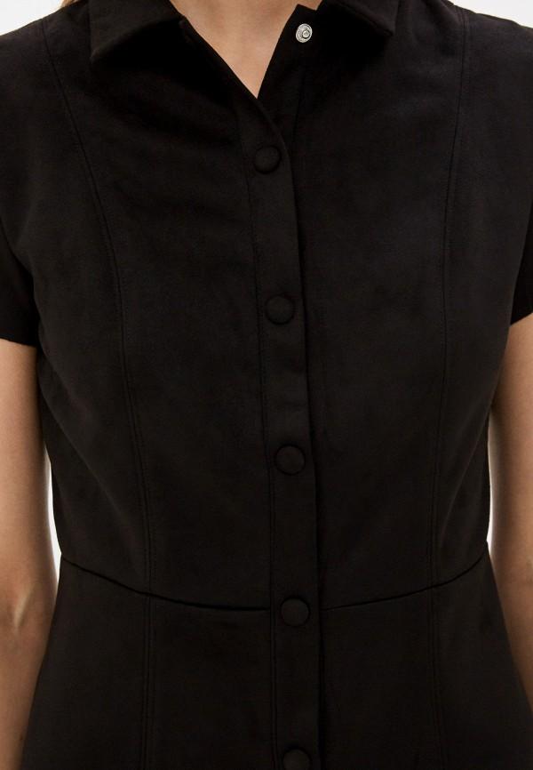 Фото 4 - Женское платье Befree коричневого цвета