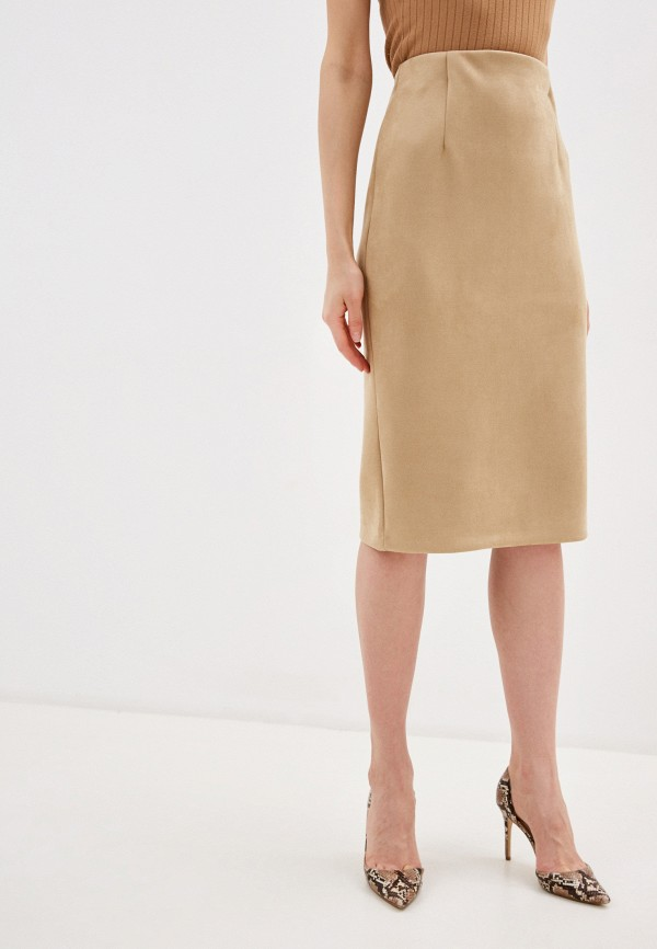 Фото - Женскую юбку Befree бежевого цвета