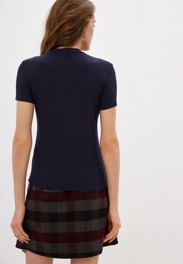 Фото 3 - Женскую футболку Befree синего цвета