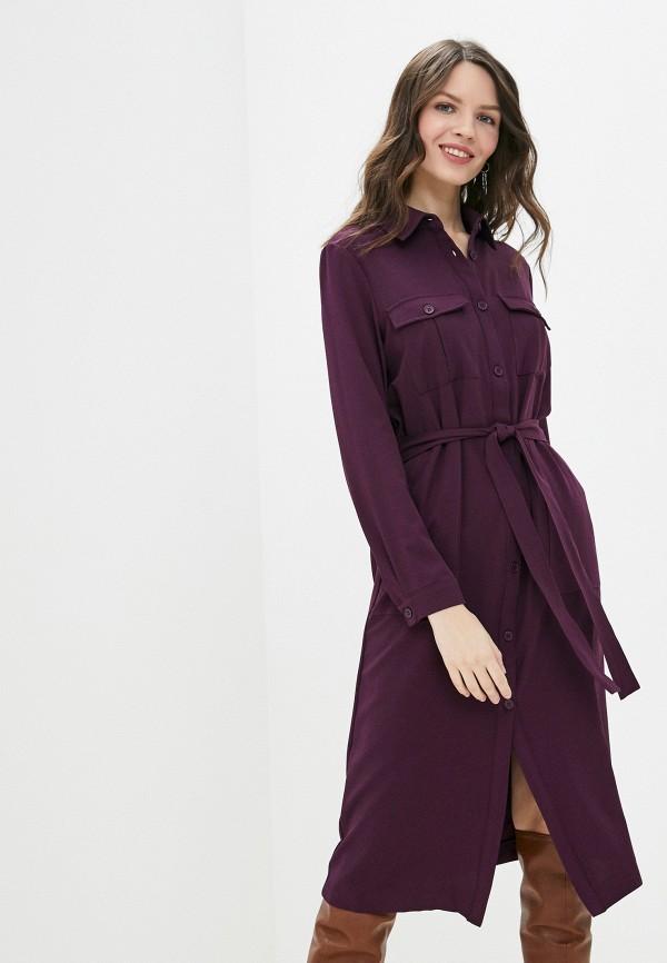 Фото - Женское платье Befree фиолетового цвета