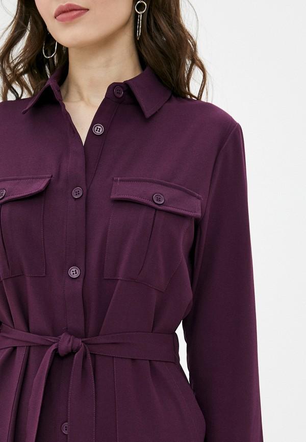 Фото 4 - Женское платье Befree фиолетового цвета