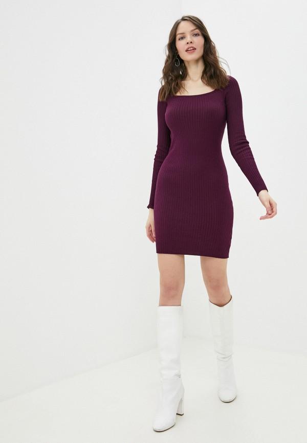 Фото 2 - Женское платье Befree фиолетового цвета