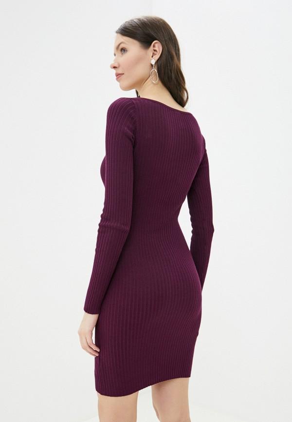 Фото 3 - Женское платье Befree фиолетового цвета