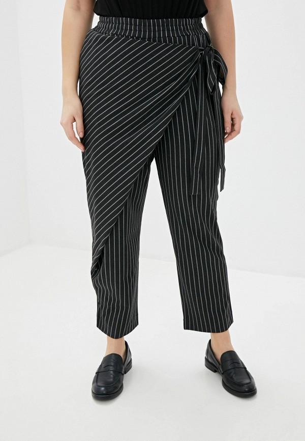 женские повседневные брюки w&b, черные
