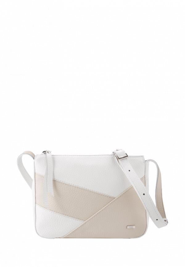 женская сумка через плечо esse, белая