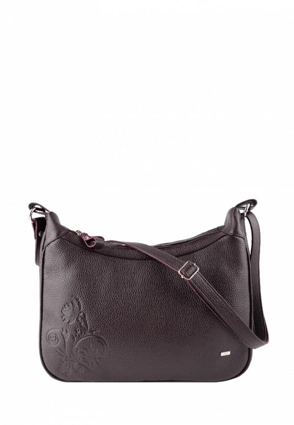 женская сумка с ручками esse, фиолетовая