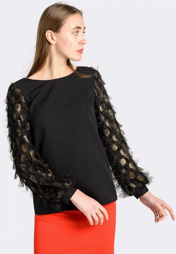 женская блузка cat orange, черная