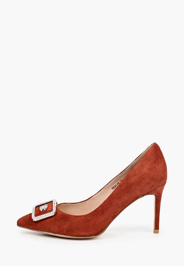женские туфли-лодочки stivalli, коричневые