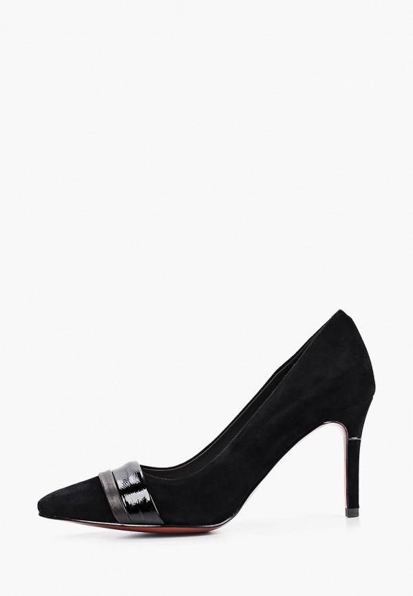 женские туфли-лодочки stivalli, черные