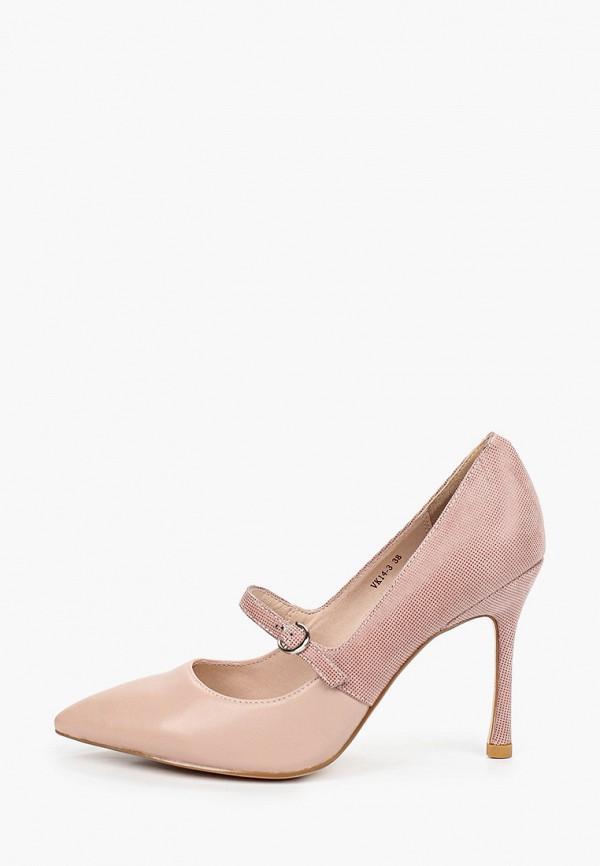 женские туфли stivalli, розовые