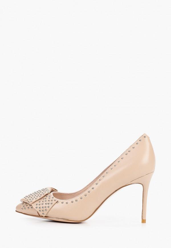 женские туфли-лодочки stivalli, бежевые